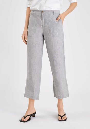 NORA - Trousers - light grey