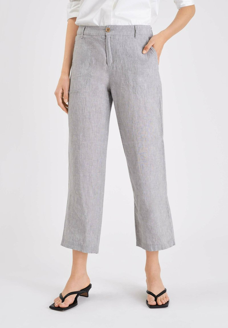 MAC Jeans - NORA - Trousers - light grey