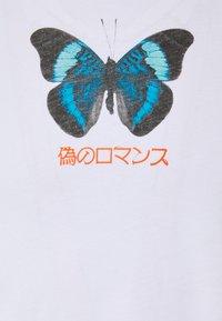 YOURTURN - UNISEX BUTTERFLY TEE - T-shirts print - white - 2