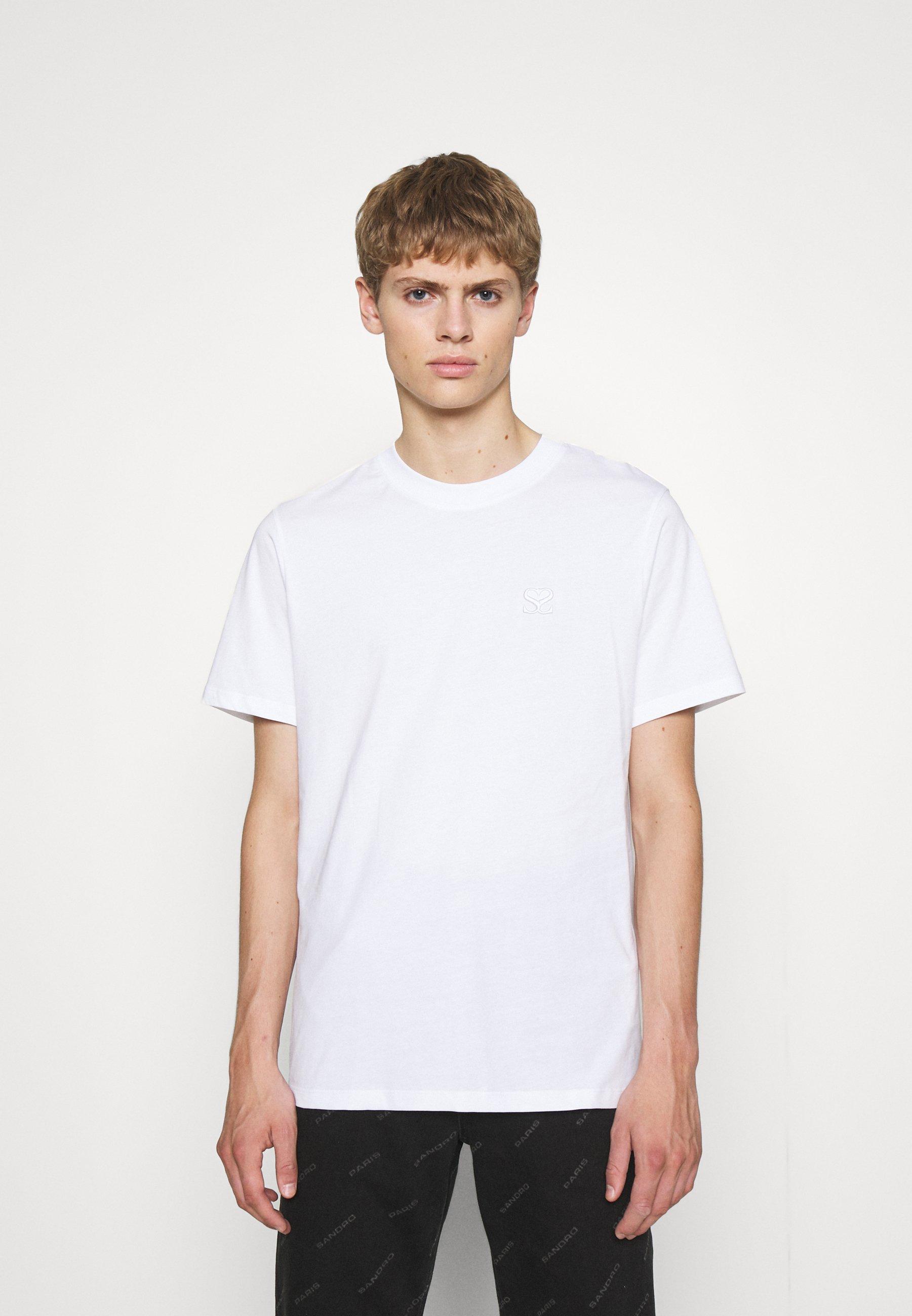 Herrer DOUBLE S TEE - T-shirts basic