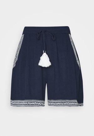 VMNEWHOUSTON  - Shorts - navy blazer/white