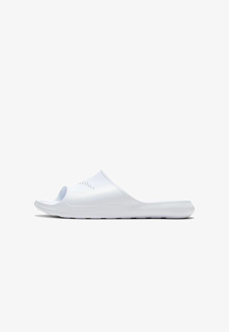 Nike Sportswear - VICTORI SLIDE - Badesandaler - white/white-white