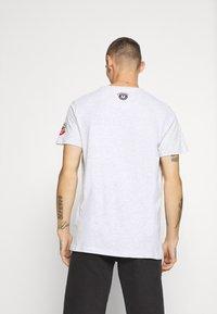 Brave Soul - T-shirt print - ecru marl - 2