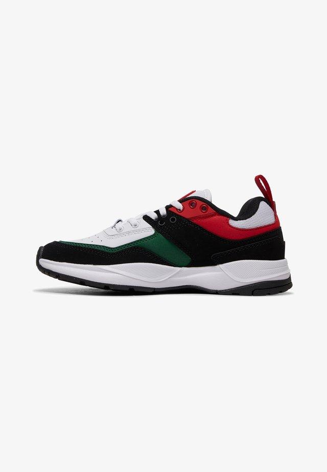 E.TRIBEKA  - Sneaker low - black/red/green