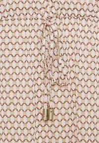 DKNY - PEASANT DRESS - Vestito lungo - brown - 2