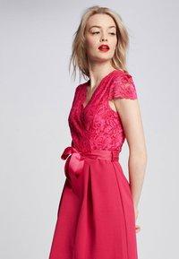 Morgan - ROME - Vestido de cóctel - mottled pink - 2