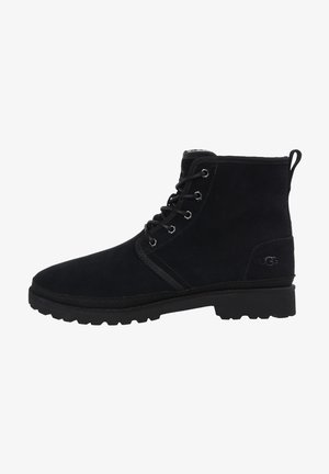 HARKLAND - Lace-up ankle boots - black