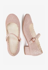 Next - GOLD SCALLOPED MARY JANE HEELS (OLDER) - Baleríny s páskem - pink - 1