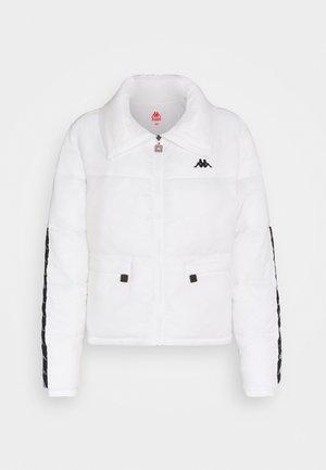 HEDORA - Winter jacket - bright white