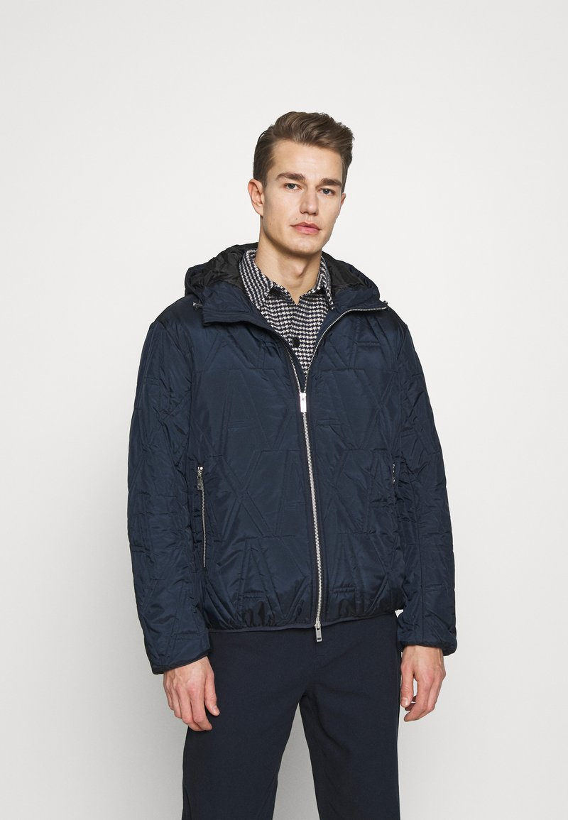 Armani Exchange - BLOUSON JACKET - Light jacket - navy