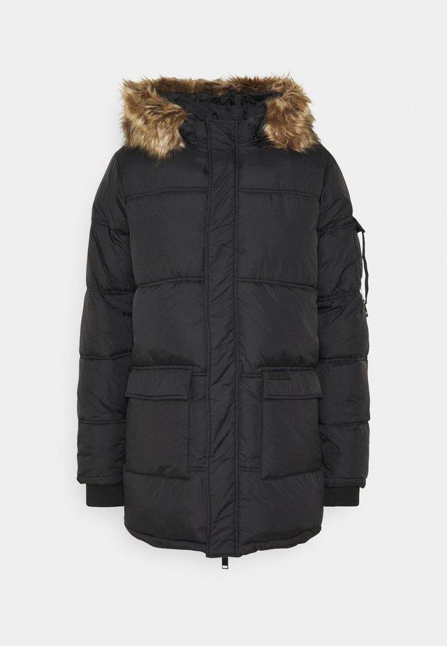 BASIC - Płaszcz zimowy - black