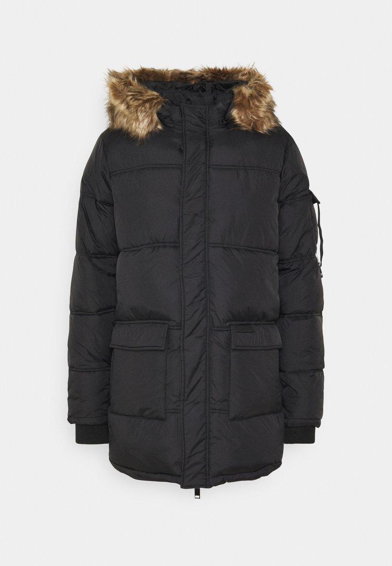 Sixth June - BASIC - Zimní kabát - black