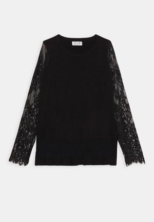 LADIES KNITTED - Svetr - black