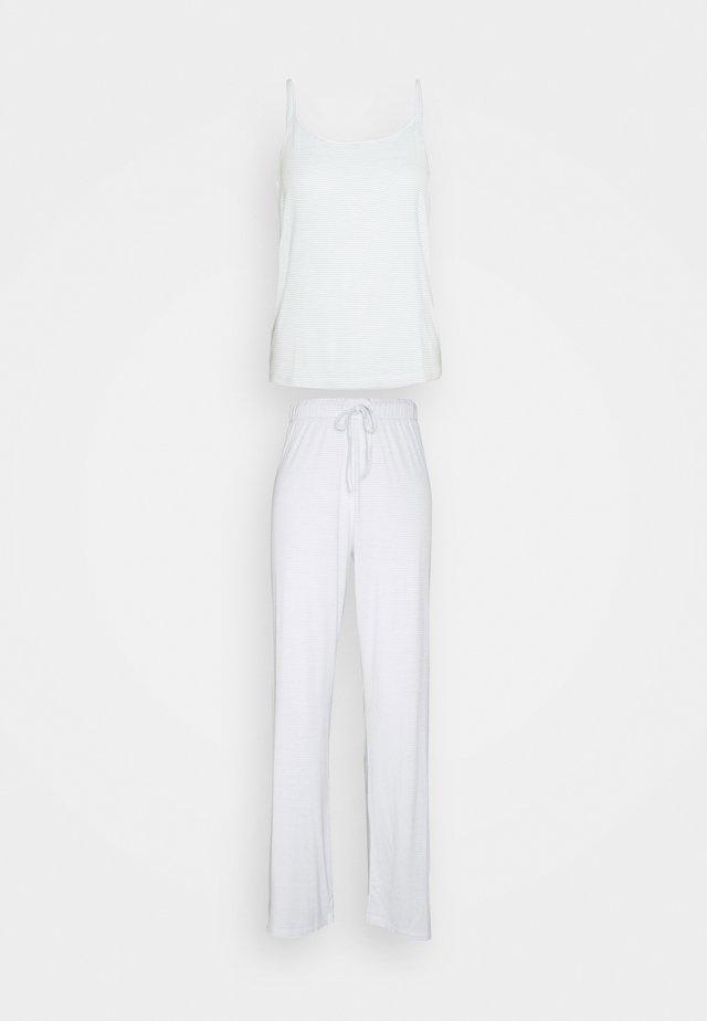 ONLKIRI STRAP NIGHTWEAR  - Pyjama - white/blue