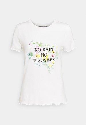 ORAIN - Camiseta estampada - ecru