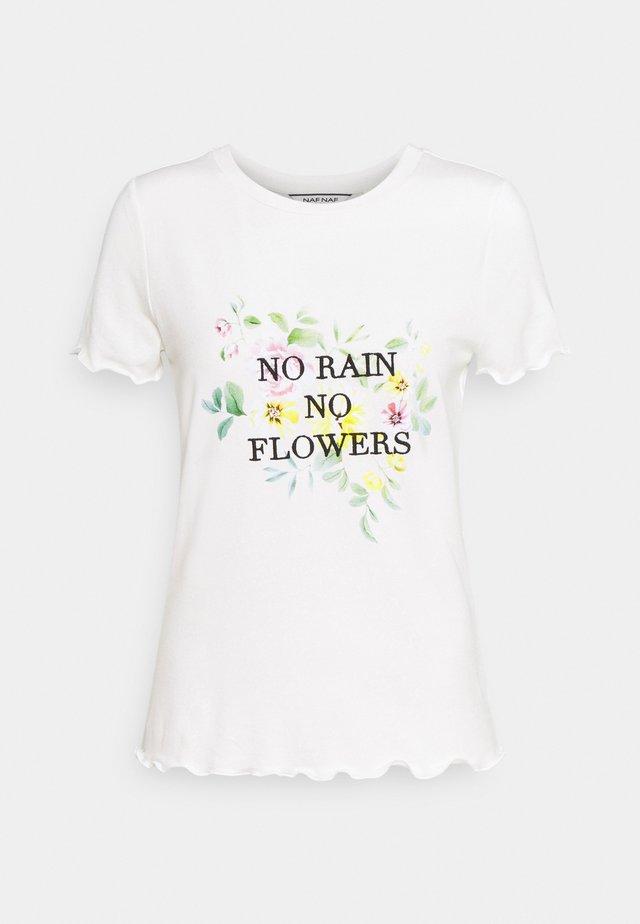 ORAIN - T-shirts print - ecru