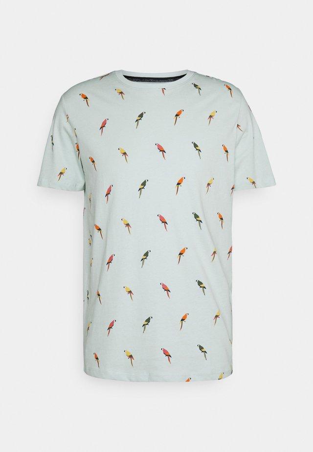 CREW NECK - T-shirt print - pale blue