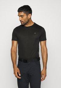 Calvin Klein Golf - HARLEM TECH 3 PACK - T-shirts basic - black/navy/silver - 4