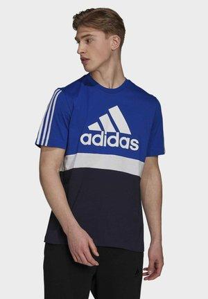COLORBLOCK ESSENTIALS SPORTS - T-shirts print - bold blue/white