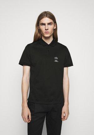 TRIPTYCH THUNDER - Polo shirt - black/white