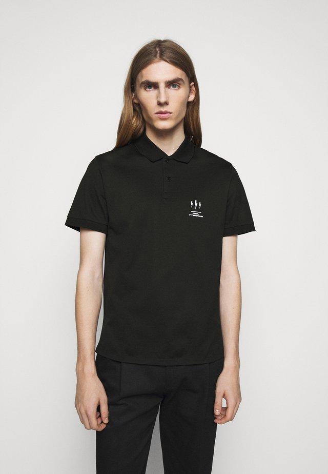 TRIPTYCH THUNDER - Poloshirt - black/white