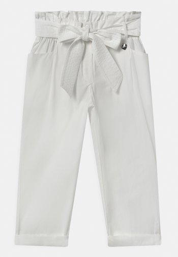 WOVEN  - Trousers - off white