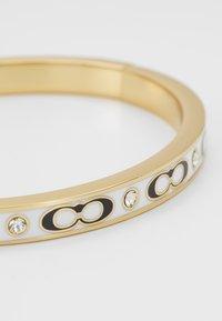 Coach - HINGED BANGLE - Bracelet - gold-coloured/chalk - 4