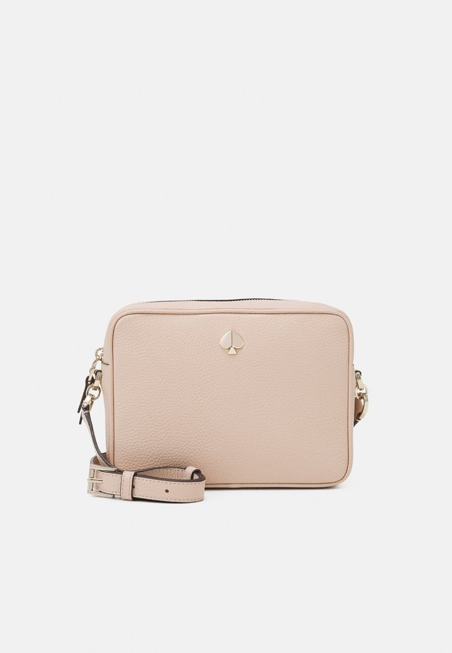 MEDIUM CAMERA BAG - Axelremsväska - blush light rose