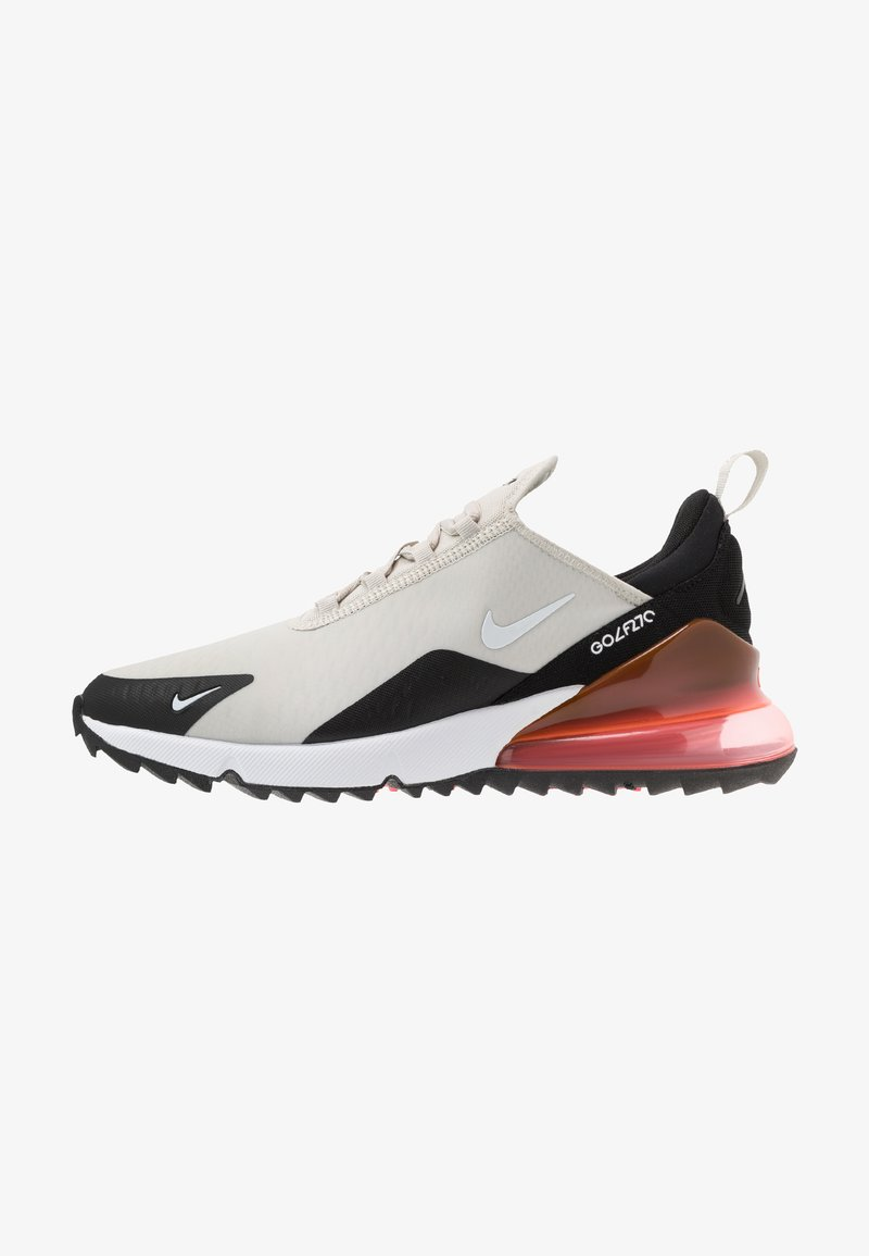Nike Golf - AIR MAX 270 G - Golfové boty - light bone/white/black/hot punch