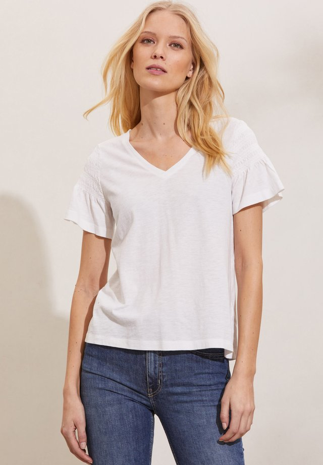 GLORIA - T-shirt med print - light chalk