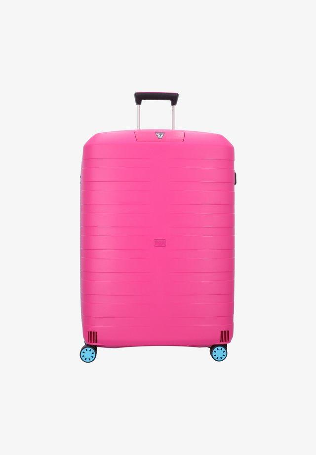 Wheeled suitcase - azzurro magenta