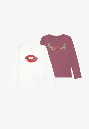 NKFVEEN 2 PACK - Longsleeve - heather rose