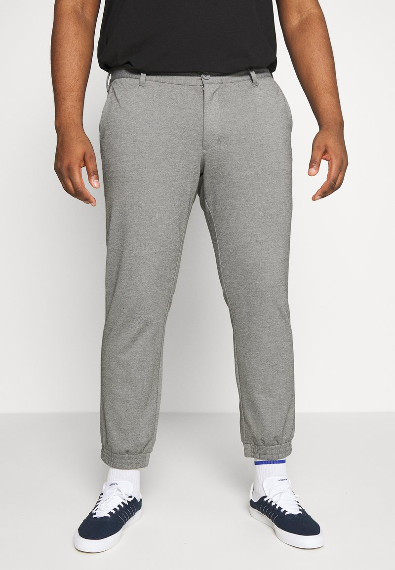 Only & Sons - ONSMARK CUFF - Trousers - medium grey melange