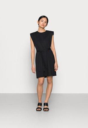 ONLJEN LIFE DRESS - Jersey dress - black