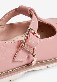 Next - STAR CHARM - Ankle strap ballet pumps - pink - 2
