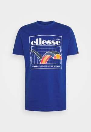 PARERI TEE - T-shirt con stampa - blue