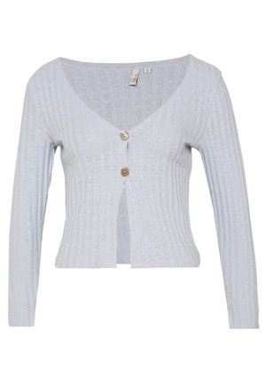 BUTTON DOWN CARDIGAN - Cardigan - light blue