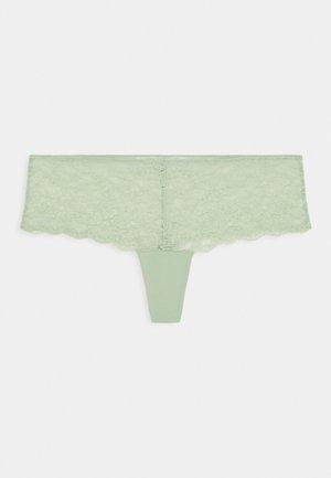 HELLE HALFSTRING - Thong - green dusty light