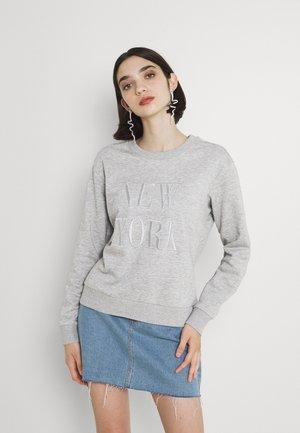 JDYPARIS TREATS - Sweatshirt - light grey