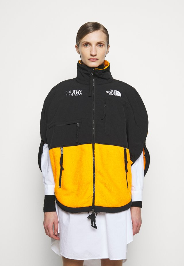 MM6 X THE NORTH FACE COAT - Forro polar - orange