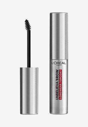 UNBELIEVA'BROW LONGWEAR TOPCOAT - Eyebrow gel - transparent