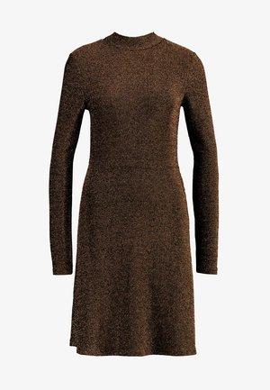 Denní šaty - black/toffee