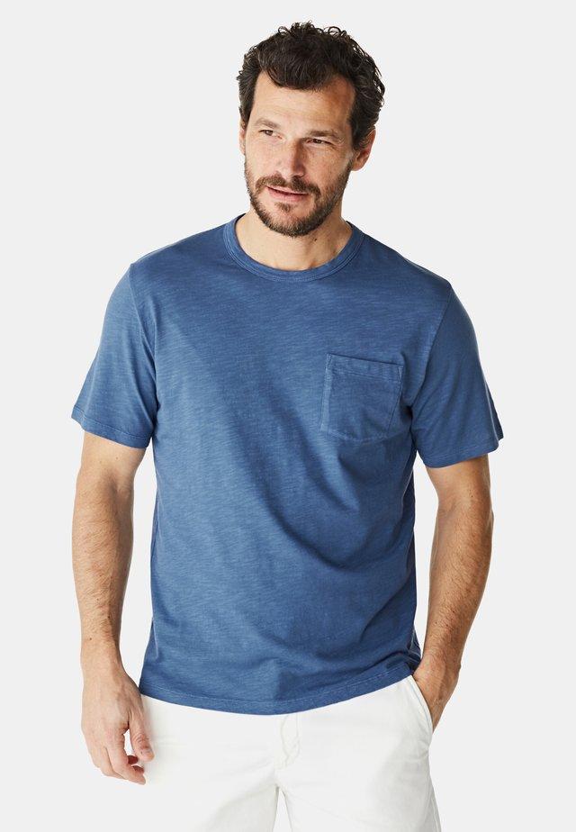 Basic T-shirt - mid blue