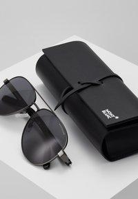 Mont Blanc - Sluneční brýle - ruthenium black/grey - 2