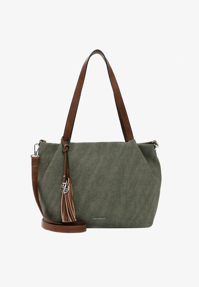 ELKE - Handbag - oliv