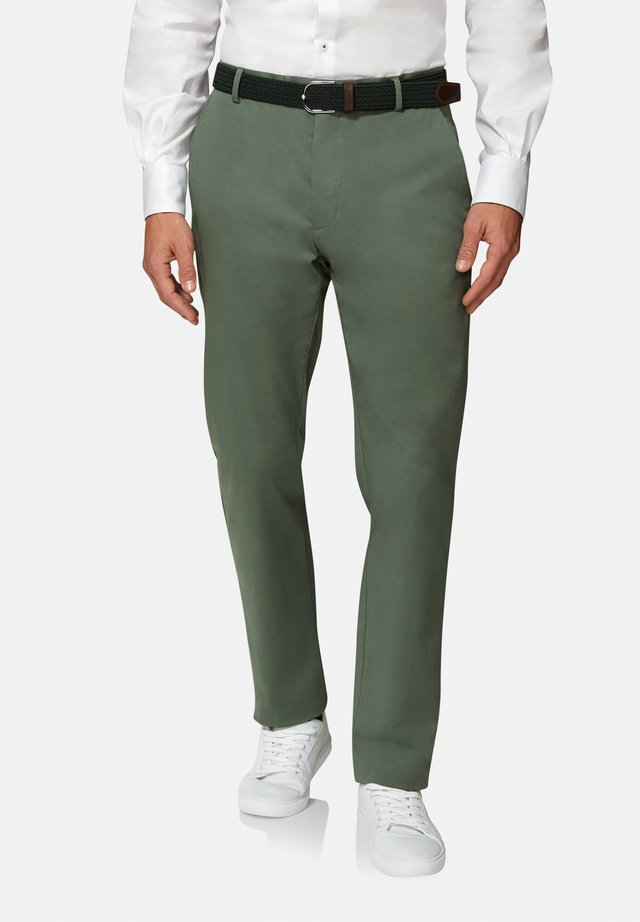 SLIM FIT RADCLIFFE  - Chinos - green