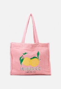 Fiorucci - LA PESCA TOWELLING TOTE BAG UNISEX - Tote bag - pink - 1