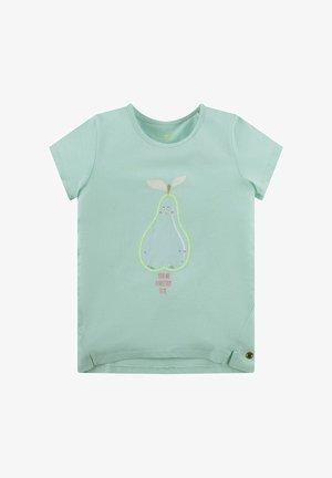 PRINT UND PAILLETTEN - Print T-shirt - yucca green