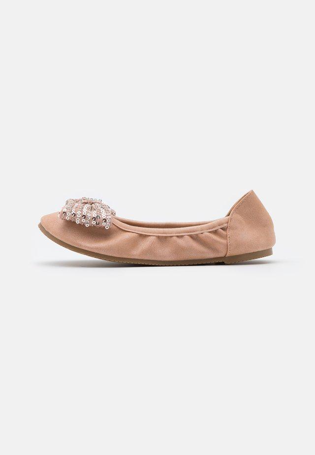 KIDS PRIMO BALLET FLAT - Ballerinasko - rose gold shimmer