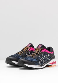 ASICS - GEL-KAYANO 26 - Stabilty running shoes - black/blue coast - 2